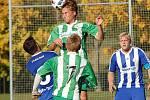 Nakonec rozdílem tří gólů přehrála Kamenice nad Lipou v okresním derby Pacov a udržela se tak v popředí tabulky I. A třídy.