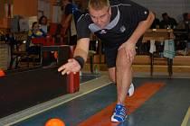 Jiří Ouhel podal velmi dobrý výkon, jenže soupeř byl ještě lepší. Podobně to bylo v globálu v utkání Kamenice nad Lipou – Dačice D.