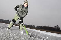 Přírodní led zatím moc využívat nelze.