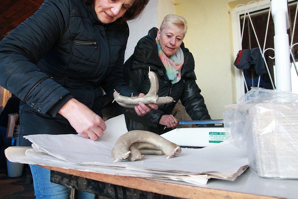 Zabijačkové hody v sobotu 23. února v Jiřicích.
