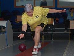 Parádní výkon v zápase proti Jihlavě podala zkušená Ludmila Landkamerová.