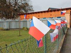 Putimov v loňském roce ovládly vlajky.
