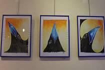 V Galerii M v Pelhřimově do 30. ledna vystavuje výtvarnice Veronika Poulová z Putimova.