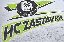 Znak hokejistů HC Zastávka.