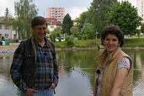 Václav Vydra natáčel u pelhřimovských Strachovských rybníků.