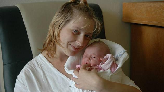 Laura Houšková, 17. srpna 2010, Košetice, 3 200 g