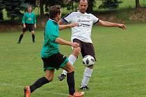 S nerozhodným výsledkem 2:2 se za deštivého odpoledne rozešli fotbalisté Čejova a Obrataně.