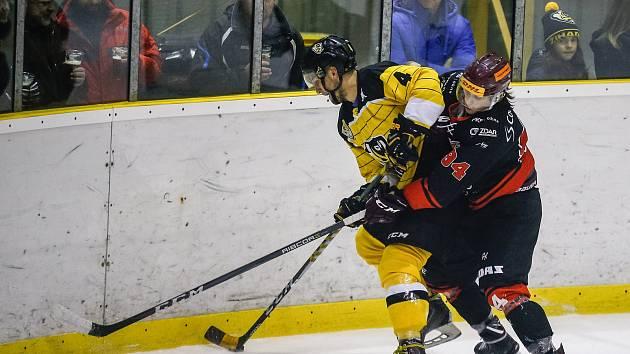 Hokejistům Moravských Budějovic to v posledních týdnech jde. Vyhráli už páté utkání v řadě a v tabulce skupiny Jih jim patří druhá příčka.