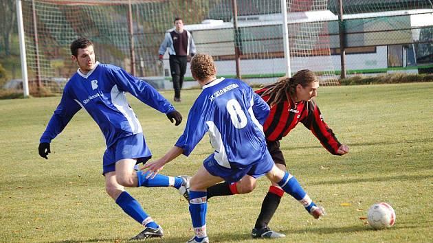 Fotbalisté Speřic sice v utkání se Světlou bojovali, ale z vítězství se radovali favorizovaní hosté