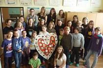 Jak uvedla Ivona Krčilová, její tým se do tvoření srdíčka nazvaného Srdce (bez?) naděje pustil s láskou.