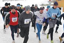 V pelhřimovských Sadech se v zimě závodilo bez ohledu na rozmary počasí i výšku sněhových závějí. Vedle domácích borců se postavili na start také běžci ze širokého okolí.