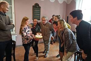 Oslavy desetého výročí fungování Chaloupek.