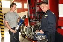 Běžný den na pelhřimovské stanici profesionálních hasičů.