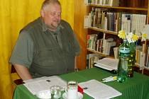 Psycholog Luboš Novotný