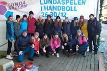 Házenkářky žirovnického Slavoje nečekaně vyhráli turnaj ve Švédsku.