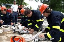 Devadesáté narozeniny bořetínských hasičů.