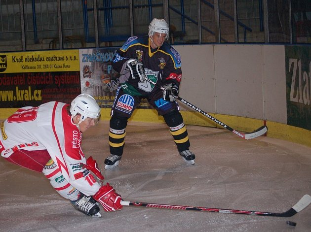Hokejové utkání Kutná Hora - Pelhřimov