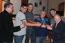 Vítězná ODS oslavovala v sobotu večer v Pelhřimově.