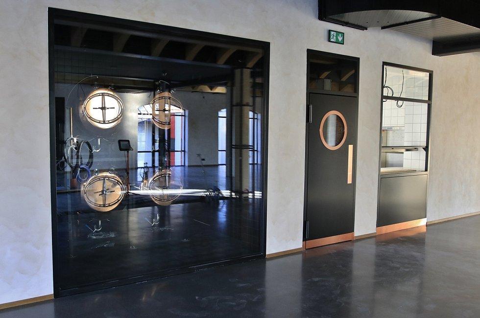 Nové návštěvnické centrum pivovaru Bernard.