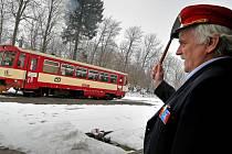 Výpravčí ve stanici Humpolec