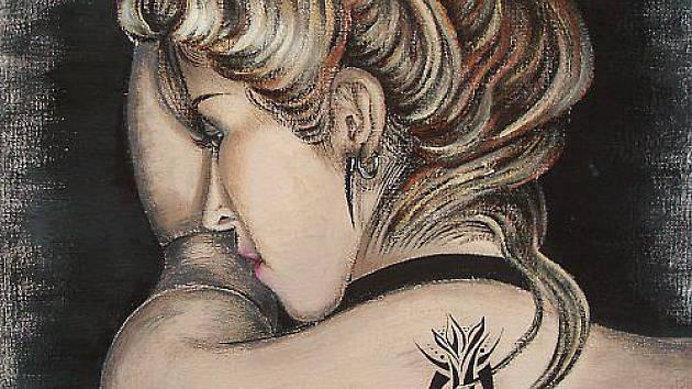 Ukázka díla Anette Bröcklové