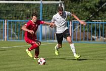 Fotbalisté Třebíče by měli patřit k nejlepším týmům krajského přeboru. Nic na tom nemění ani remíza v úvodu sezony s Okříškami.