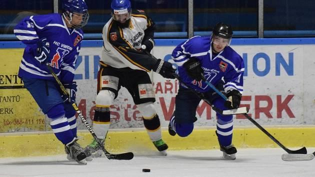Hokejisté Humpolce začali sezonu vyhrou ve Vimperku.