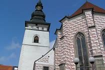 Věž Svatého Bartoloměje v Pelhřimově