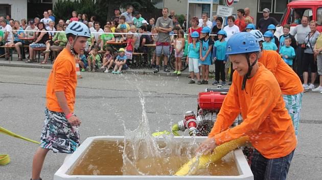Dobrovolní hasiči v Počátkách oslavili v sobotu 140 let od svého založení.