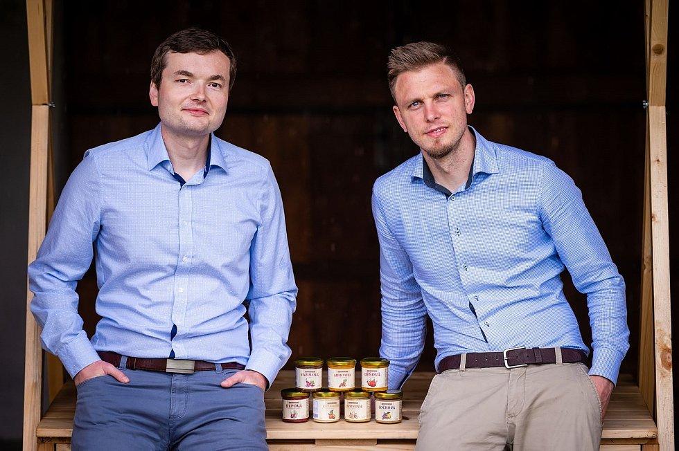 Tomáš Starý (vlevo) a Tomáš Novák.