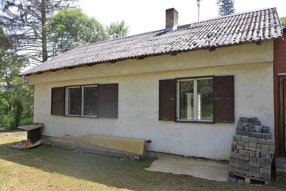 Střelnice v Košeticích.