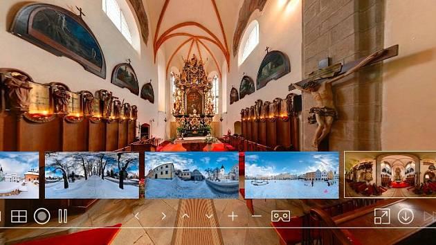 Virtuální prohlídka Muzea Vysočiny v Pelhřimově.