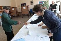 Volby na Pelhřimovsku.