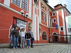 Na Dny evropského dědictví do Pelhřimova přijeli i turisté z Lažníček u Přerova