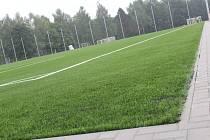 Slavnostní otevření kamenického fotbalového hřiště se uskuteční v sobotu 14. listopadu.