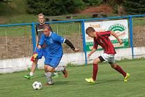 V pořadí druhý gól Žirovnice zařídil Daniel Krtek (vlevo).