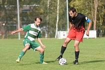 Fotbalisté Kamenice nad Lipou nastříleli Mírovce devět gólů.