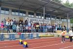 Středeční odpoledne patřilo v Humpolci druhému ročníku sportovních her seniorů. Ještě než začalo samotné klání, přítomní se pokochali pohledem na šikovné mažoretky a poslechli si vystoupení mladé pěvecké dvojice.