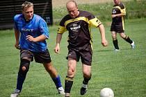 V sousedském derby se na hřišti Speřic prosadili fotbalisté Vysočiny Petrovice. Lví podíl na jejich vítězství měl zkušený ostrostřelec Tomáš Moravec.