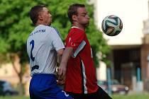 Fotbalisté Černovic B v 19. kole slavili výhru. Navzdory tomu, že od Vyskytné inkasovali gól hned v úvodu.