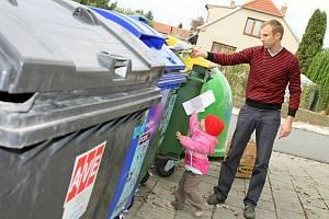 Odpad a jeho třídění, ilustrační foto