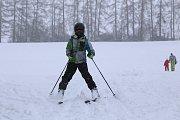 Začátek lyžařské sezony v Křešíně.