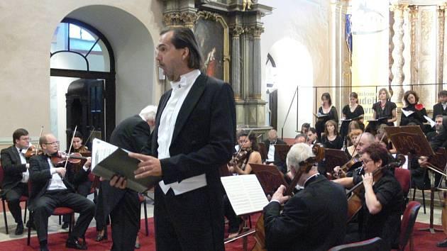 V Želivě vystoupí v rámci festivalu duchovní hudby Pražští pěvci.