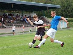Fotbalisté Pelhřimova útok na čelo tabulky krajského přeboru nezvládli.