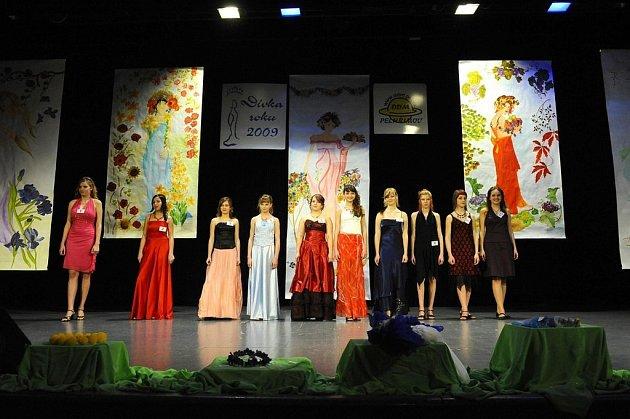 Soutěž Dívka roku 2009 v Pelhřimově