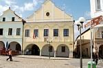 Pelhřimovská radnice.