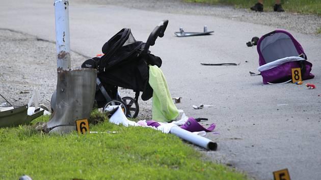 Výchovný trest: Za usmrcení dítěte v kočárku má řidič podmínku a zákaz řízení