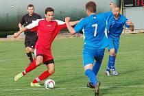 Pět gólů nastříleli fotbalisté Košetic ve druhém poločase rezervě Polné.