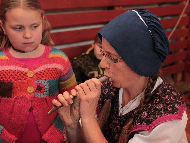 V Obratani na Pelhřimovsku se v sobotu 8. dubna konal tradiční velikonoční jarmark s nezbytnými dílnami či kulturním programem.