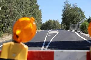 Nová silnice mezi Olešnou a Strměchy